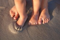 Walking Barefoot May Be Beneficial to Your Child's Feet